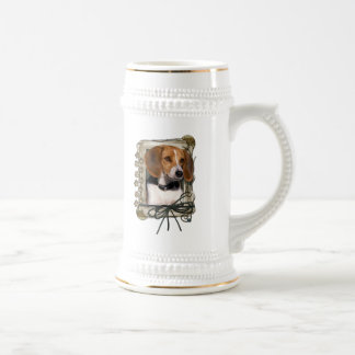 Thank You - Stone Paws - Beagle Beer Steins