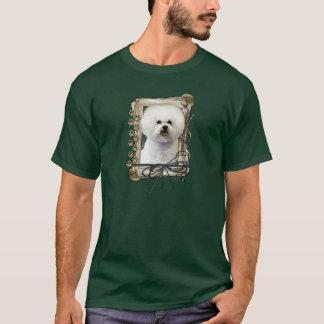 Thank You - Stone Paws - Bichon Frise T-Shirt
