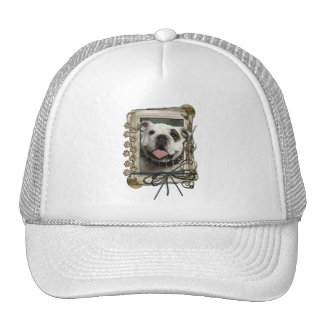 Thank You - Stone Paws - Bulldog Hats