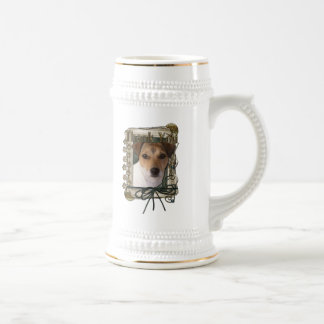 Thank You - Stone Paws - Jack Russell Beer Steins