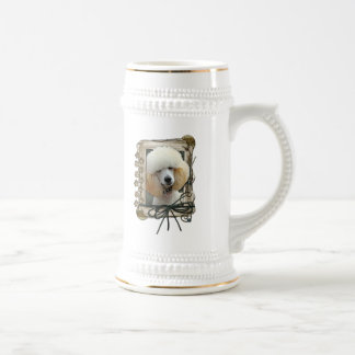 Thank You - Stone Paws - Poodle - Apricot Coffee Mug