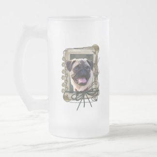 Thank You - Stone Paws - Pug Coffee Mug