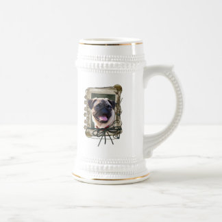 Thank You - Stone Paws - Pug Coffee Mugs