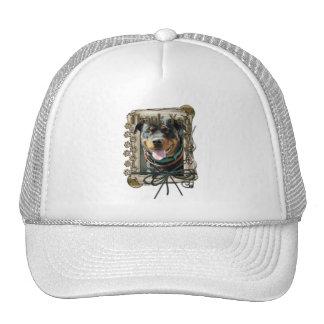 Thank You - Stone Paws - Rottweiler - SambaParTi Trucker Hat