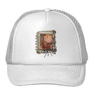 Thank You - Stone Paws - Shar Pei - Lucky Hats