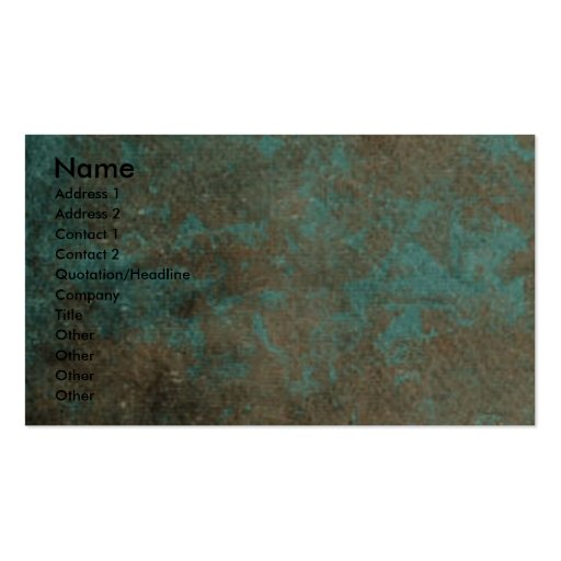 Thank You - Stone Paws - Siberian Husky - Copper Business Cards
