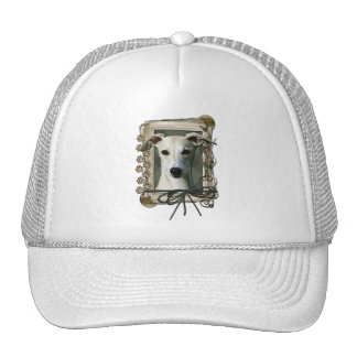 Thank You - Stone Paws - Whippet Trucker Hat