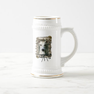 Thank You - Stone Paws - Whippet Beer Steins