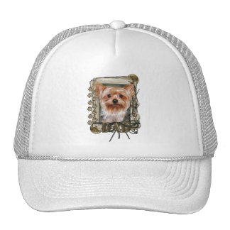 Thank You - Stone Paws - Yorkshire Terrier - Dad Cap