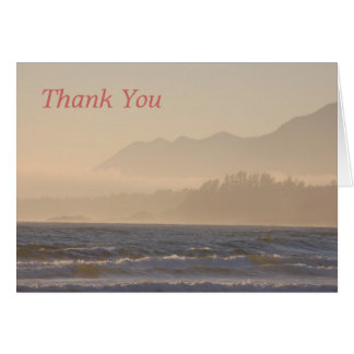 Thank You Sunset Card