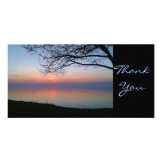 Thank You Sunset Photocard Photo Cards