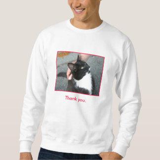 """""""Thank You"""" sweatshirt"""
