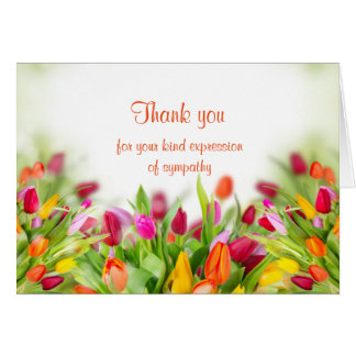 Thank You Sympathy Card