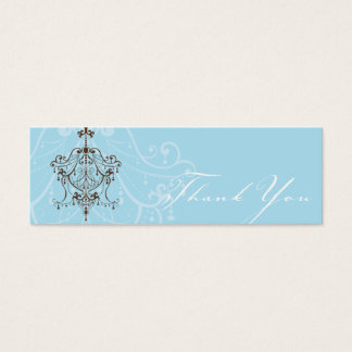 THANK YOU TAG :: chandelier Mini Business Card