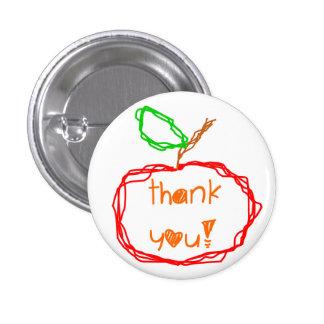 Thank You Teacher 3 Cm Round Badge