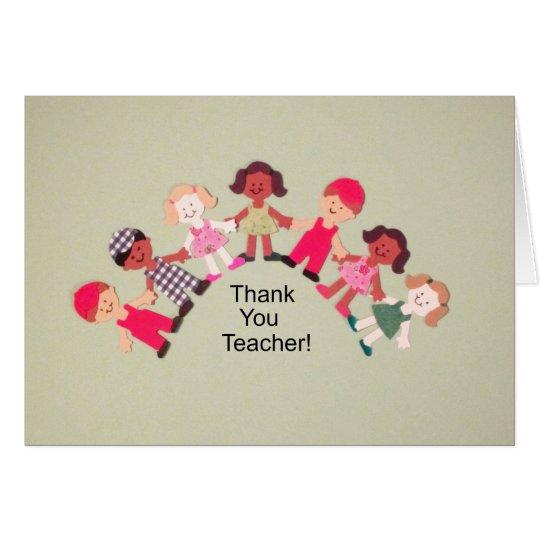 Thank You Teacher! Card