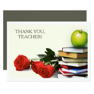Thank You, Teacher.  Custom Flat Cards