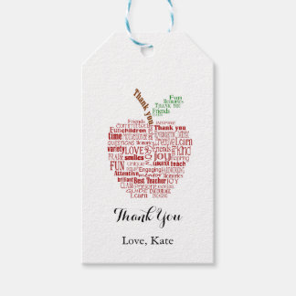 Thank you Teacher gift tag