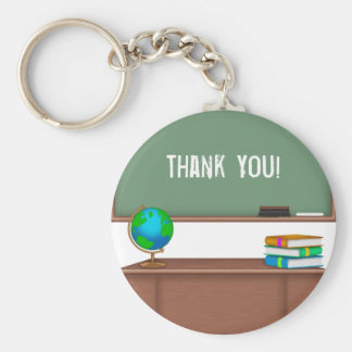 Thank You Teacher Gifts Key Ring