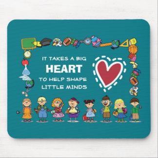 Thank You, Teacher. School Kids Gift Mousepads