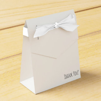 Thank You tent bag with romantic wreath Favour Box