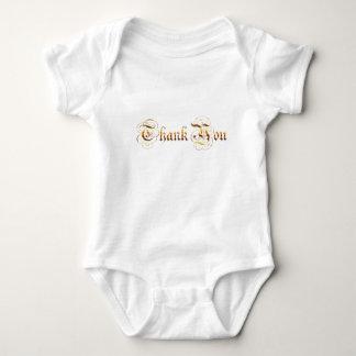 Thank you.text. baby bodysuit