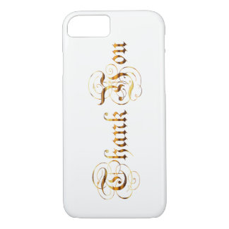 Thank you.text. iPhone 8/7 case