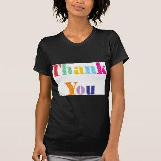 Thank You Text T-Shirt