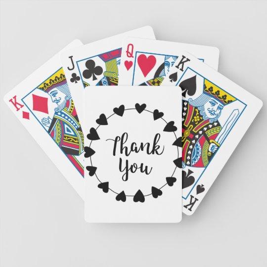 THANK YOU, Thank you card