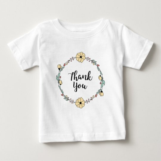 THANK YOU! Thank you card Baby T-Shirt