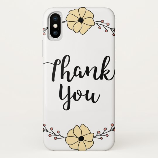 THANK YOU! Thank you card Galaxy Nexus Cover
