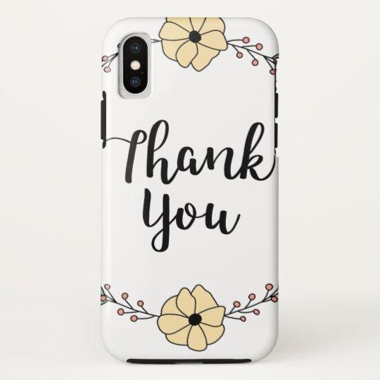 THANK YOU! Thank you card HTC Vivid / Raider 4G Case