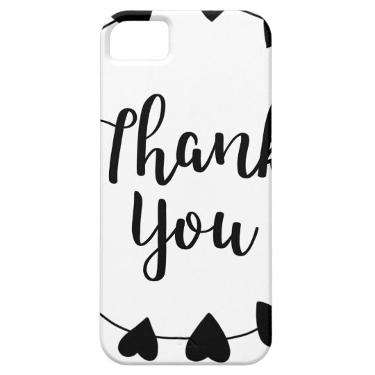 THANK YOU, Thank you card iPhone 5 Case