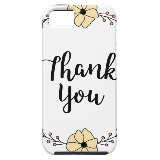 THANK YOU! Thank you card iPhone 5 Covers