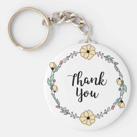 THANK YOU! Thank you card Key Ring