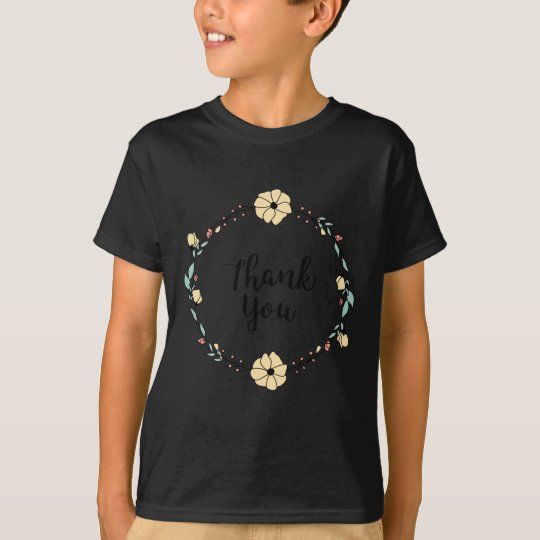 THANK YOU! Thank you card T-Shirt