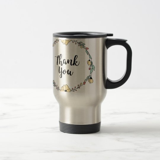 THANK YOU! Thank you card Travel Mug