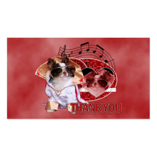 Thank You - Thank You Very Much - Chihuahua -Gizmo Business Card