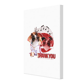 Thank You - Thank You Very Much - Chihuahua -Gizmo Gallery Wrapped Canvas
