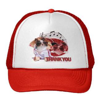 Thank You - Thank You Very Much - Chihuahua -Gizmo Mesh Hats