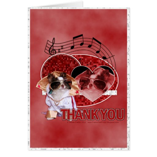 Thank You - Thank You Very Much - Chihuahua -Gizmo Cards