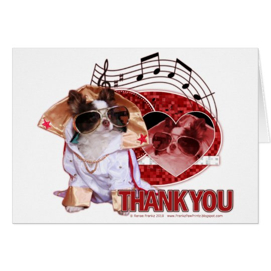 Thank You - Thank You Very Much - Chihuahua -Gizmo Card