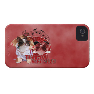 Thank You - Thank You Very Much - Chihuahua -Gizmo iPhone 4 Cases
