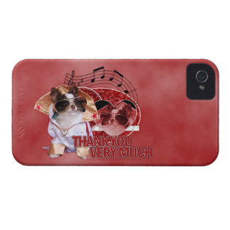 Thank You - Thank You Very Much - Chihuahua -Gizmo iPhone 4 Case-Mate Case