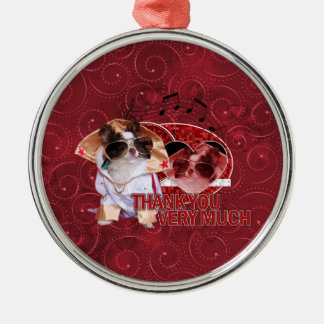 Thank You - Thank You Very Much - Chihuahua -Gizmo Ornaments