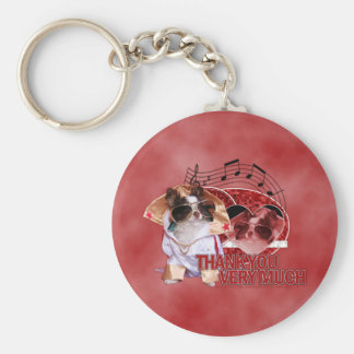 Thank You - Thank You Very Much - Chihuahua -Gizmo Key Chain