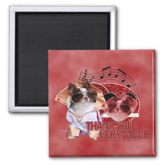 Thank You - Thank You Very Much - Chihuahua -Gizmo Refrigerator Magnet