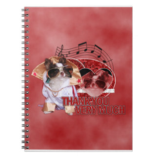 Thank You - Thank You Very Much - Chihuahua -Gizmo Notebooks