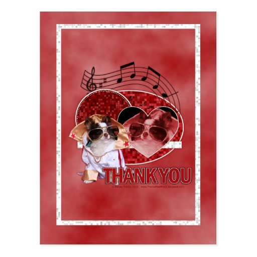 Thank You - Thank You Very Much - Chihuahua -Gizmo Postcard