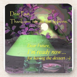 thank you the past drink coasters